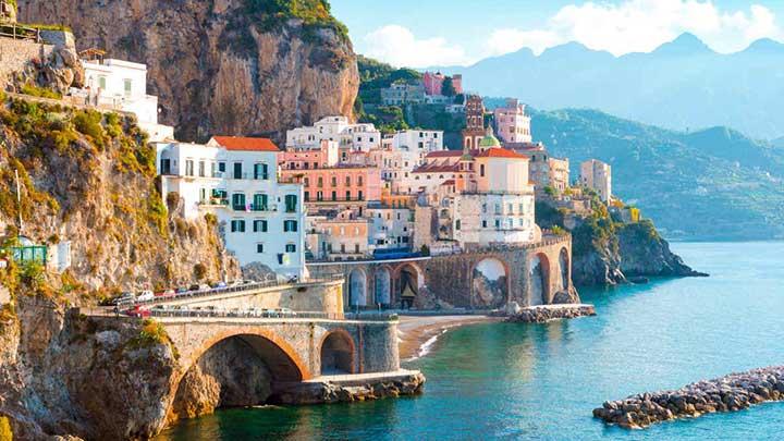 Costa Amalfitana Sicilia & Malta salidas grupales agencia de viajes argentina